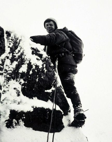 Ian Clough (1939-1970), was a British mountaineer who died after ...