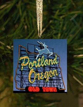 Portland Oregon Christmas Ornament by MesmanToo on Etsy, $12.00 - Portland Oregon Christmas Ornament By MesmanToo On Etsy, $12.00