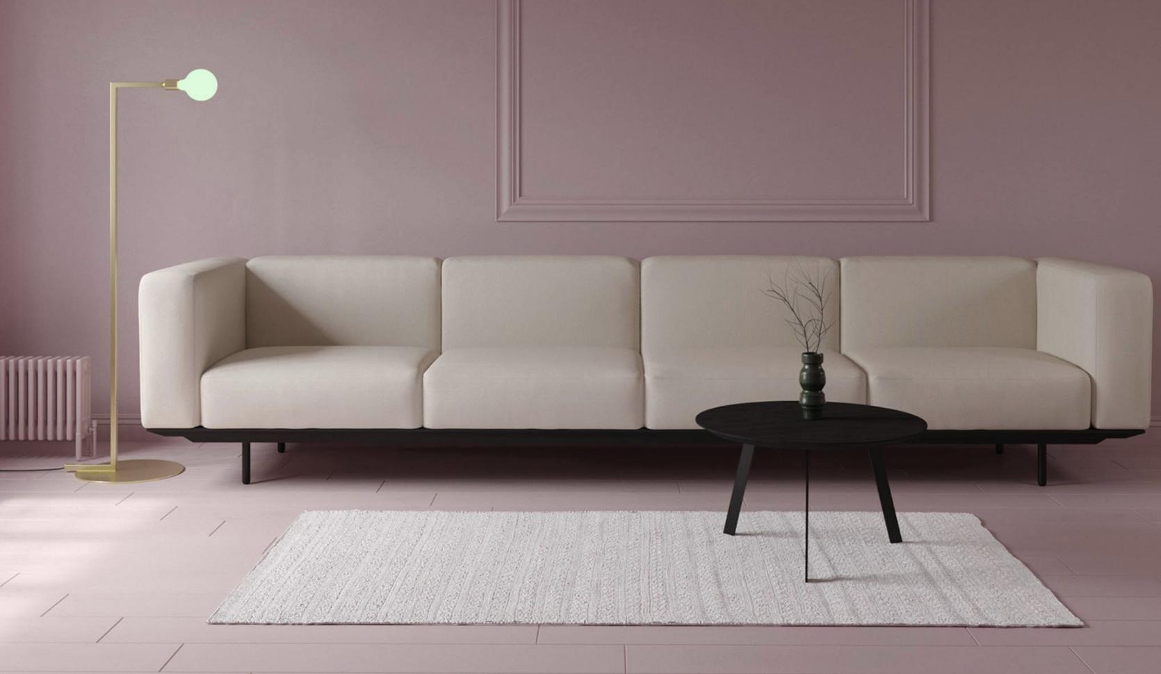 Giuseppe design zitbank 4 zits studio h&k design eettafels