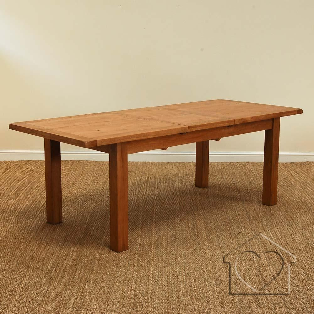 Extending Oak Table Heritage Rustic Oak 230 280 Extending Dining Table 550 00 A