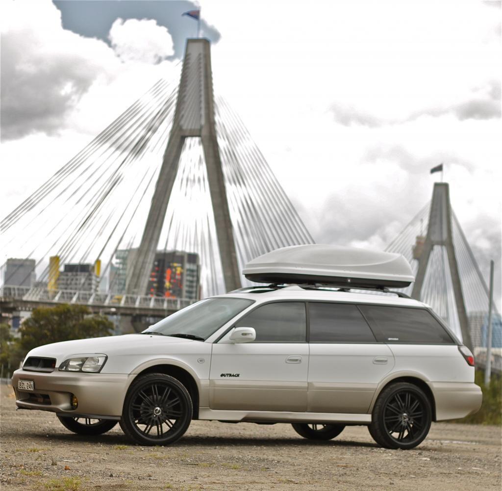 Matte Subaru Outback
