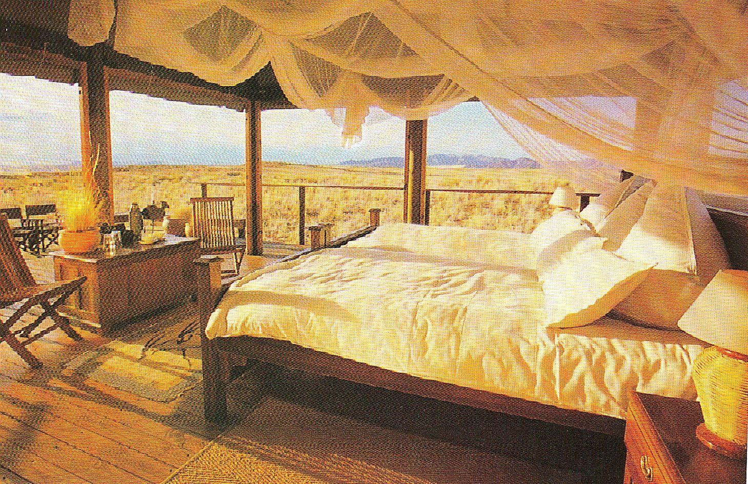 Open Air Bedroom