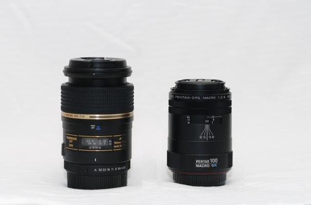 Two macro lenses