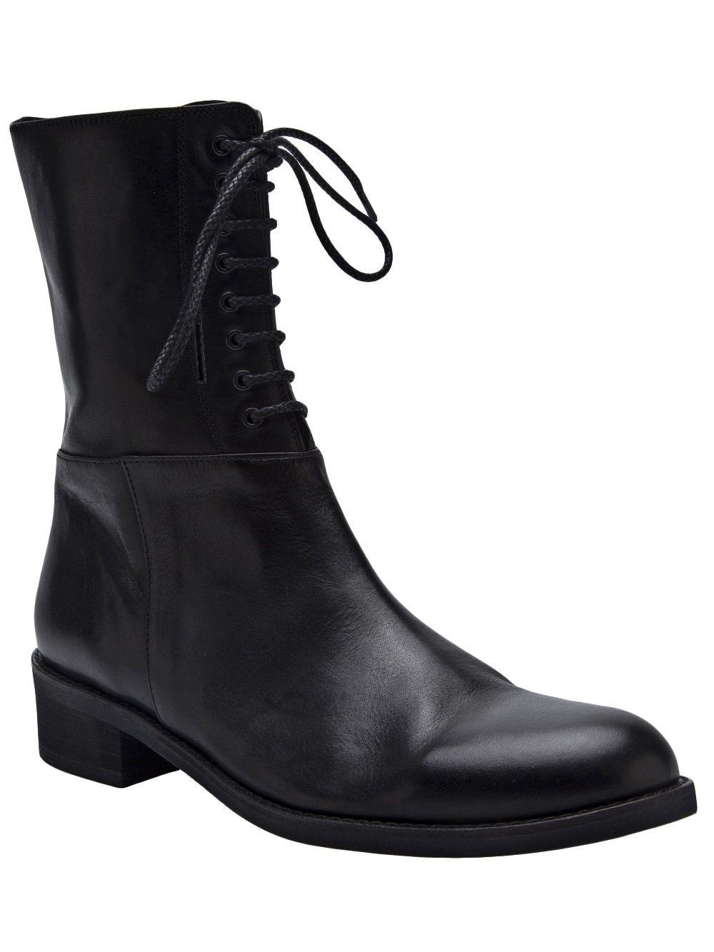 168524e54f96a Yohji Yamamoto Lace Up Zip Boot - A maree s - Farfetch.com