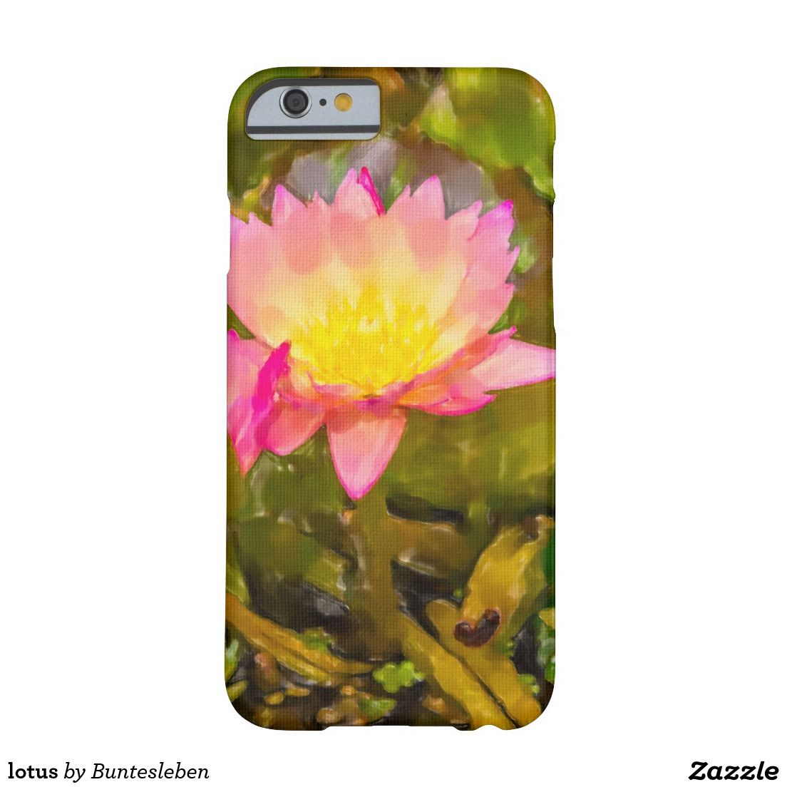 lotus barely there iPhone 6 hülle