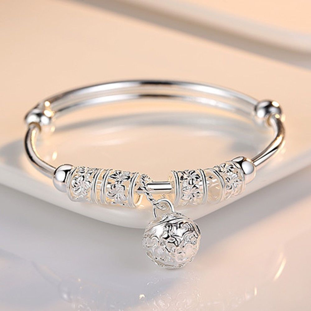 cuff bangles bracelet Silver plated crystal jewellery Ladies girl 2019 fashion