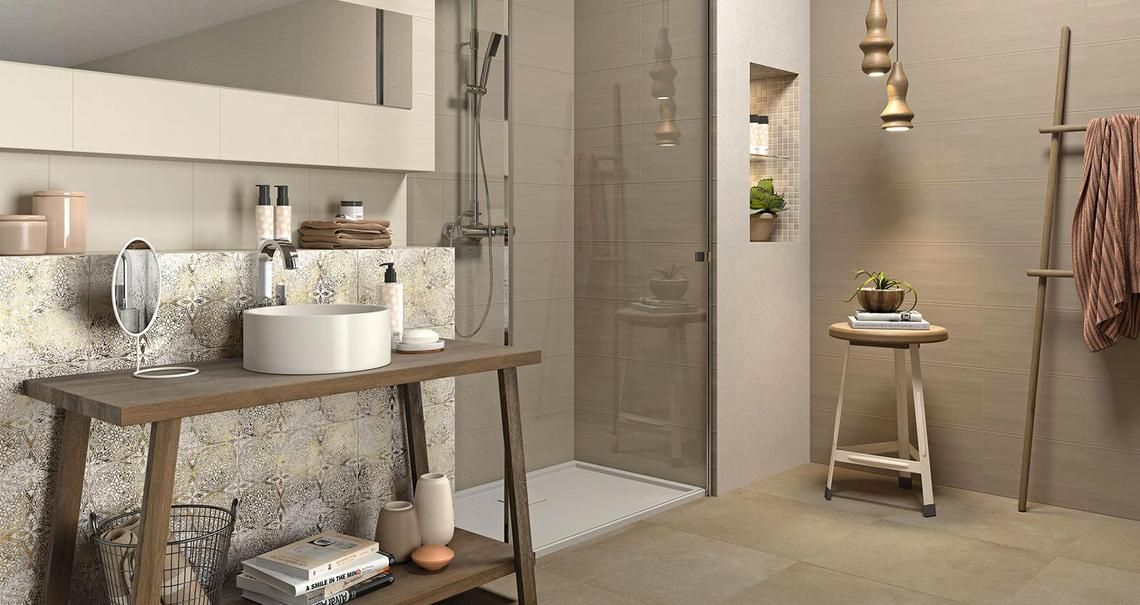 Neutral bagno home pinterest bathroom tiles e neutral bathroom