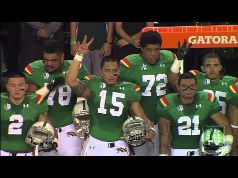 Hawaii Football Tribute To Willis Wilson Missing Warrior Formation Hawaii Rainbow Warriors Warriors Football Hawaii Athletics
