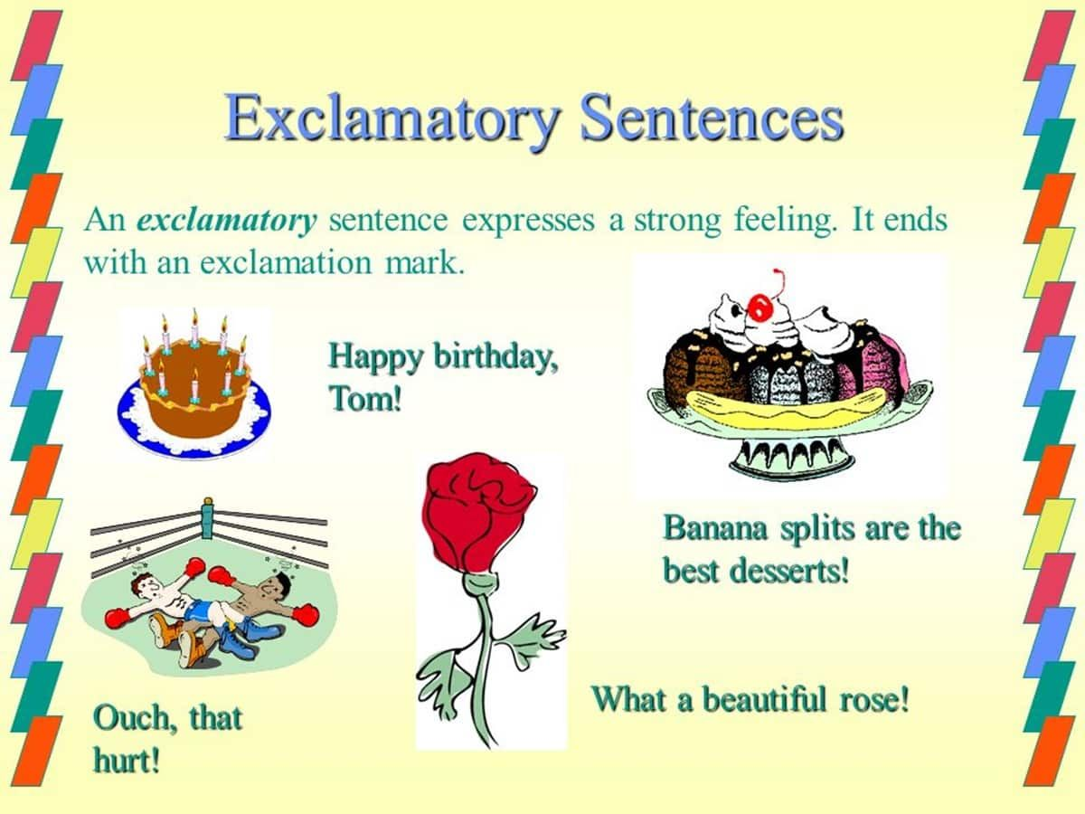 Exclamatory Sentence Definition And Examples