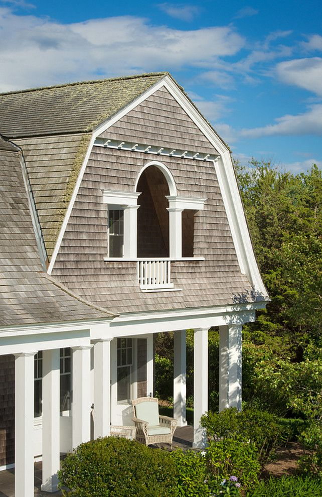 Best Shingle Gambrel Home Balcony Beach House Shingle Cape 400 x 300