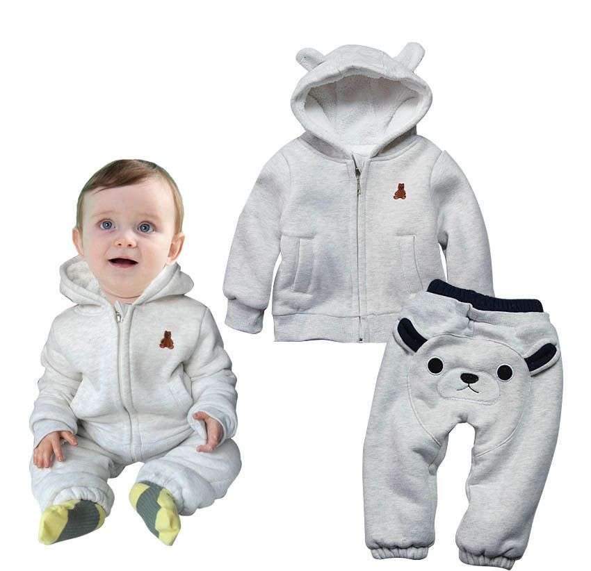 Bear Ear Baby Boy Clothes