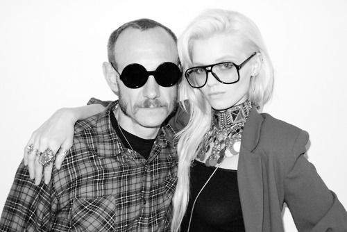 Terry Richardson & Abbey Lee Kershaw