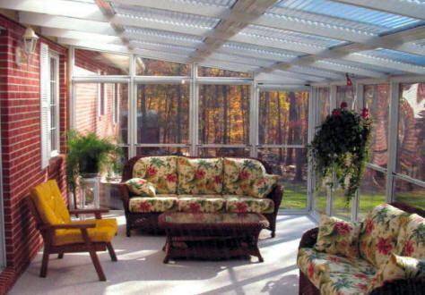 Florida Rooms Built On A Deck Greenville Sc Sunroom 4 Season
