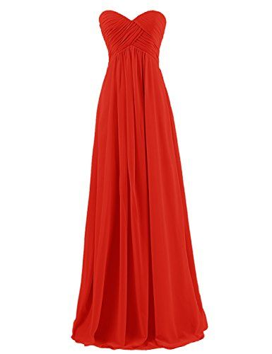 764f85f7d9a4 Dresstells Sweetheart Bridesmaid Chiffon Prom Dresses Long Evening Gowns --  See this great product.(This is an Amazon affiliate link and I receive a ...