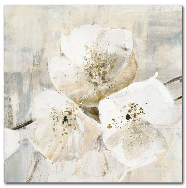 Trademark Art Elegance Iii Greige Print On Wrapped Canvas Stretched Canvas Wall Art Canvas Giclee Canvas Wall Art