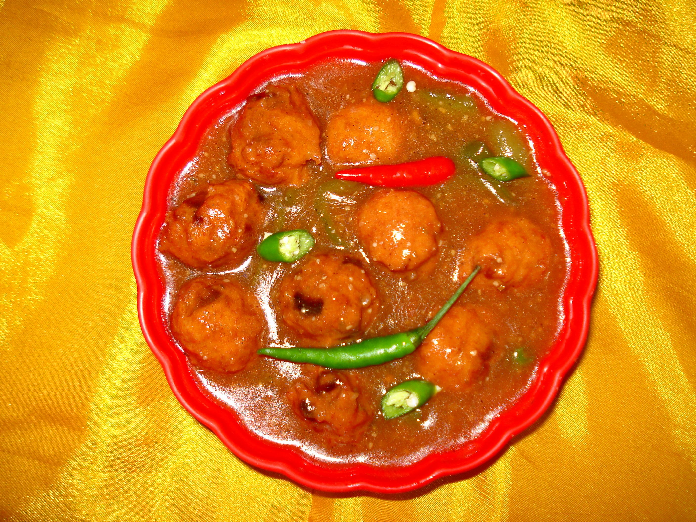 Cuisine of karachi chinese chicken manchurian food forumfinder Image collections