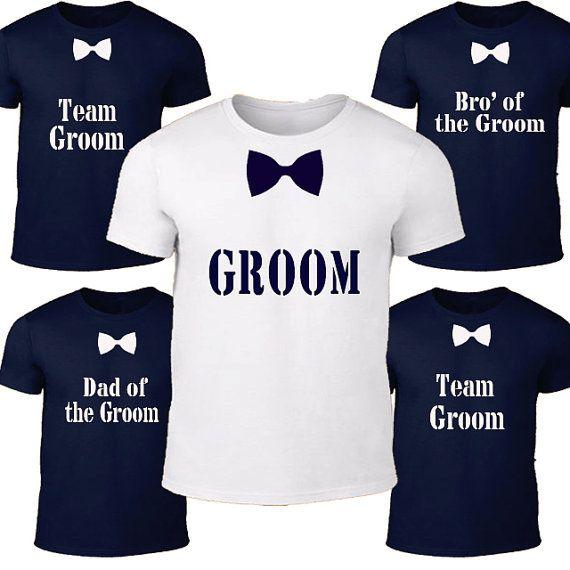 Groom T-shirt, Groomsmen Shirt, Bachelor Party, Groom