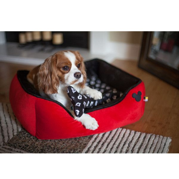 Disney 174 Mickey Mouse Cuddler Pet Bed Beds Petsmart
