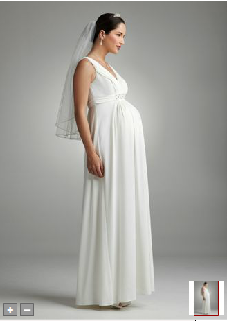 Maternity Wedding Dresses David S Bridal Secret Dress Pregnant