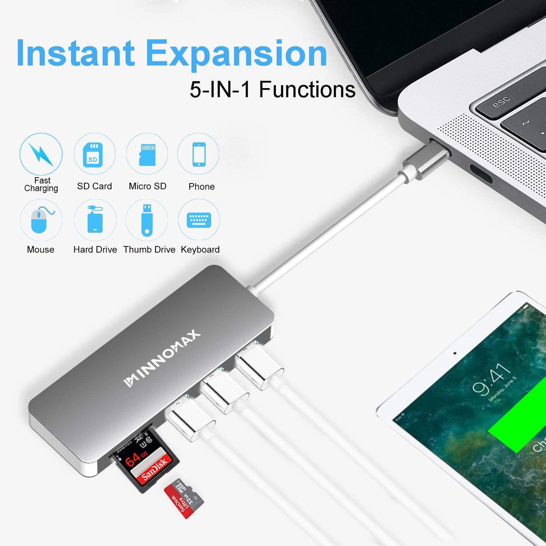 INNOMAX Thunderbolt 3 USB Hub for MacBook Pro 2018/2017/2016