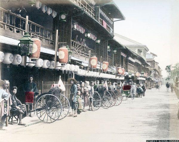 知ってる?戦前の大阪の街並みはこんな様子だった!(画像あり