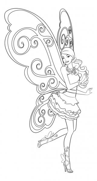 Feya Barbi Kartinki Raskraski Dlya Detej 37 Foto Shutniki Club Fairy Coloring Pages Barbie Coloring Pages Mermaid Coloring Pages