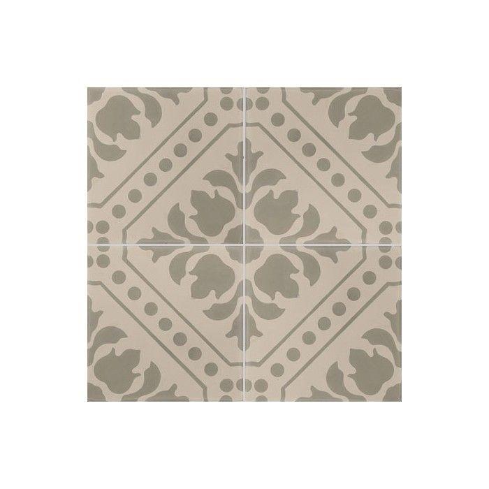 carreau de ciment color motif 4 carreaux beige et kaki co 18 carreau ciment pinterest. Black Bedroom Furniture Sets. Home Design Ideas