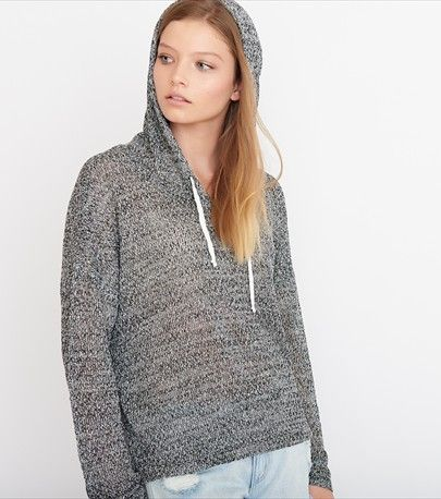 Hooded Slouchy Sweater | Garage Fall 15 | Pinterest | Slouchy sweater