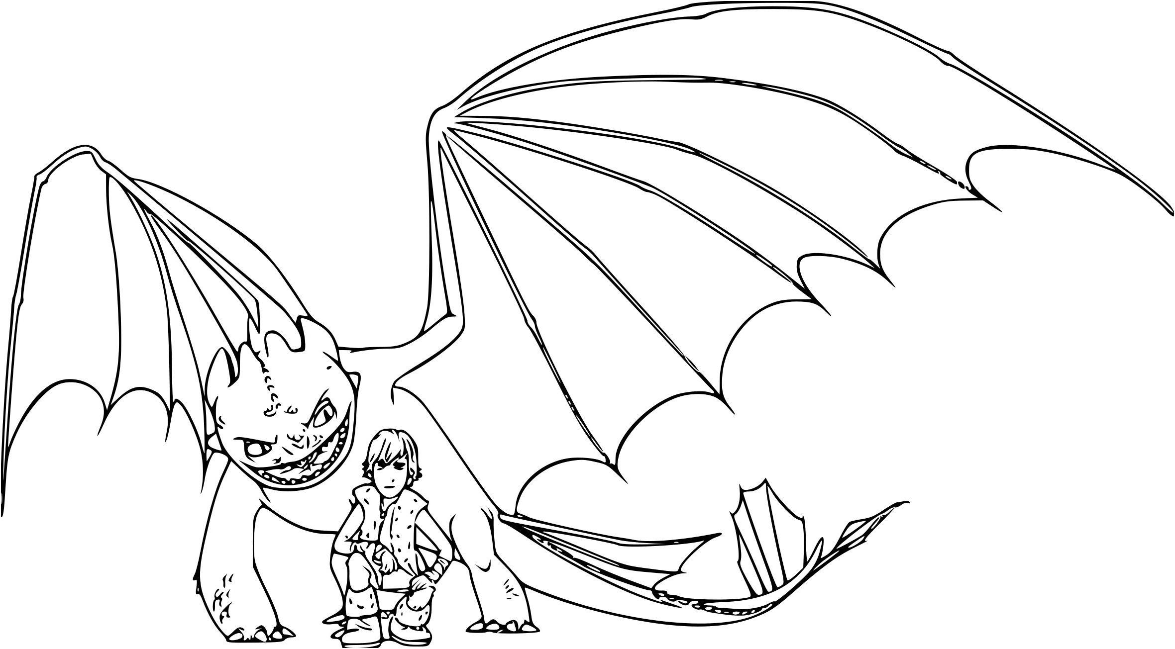 最良かつ最も包括的な Coloriage Dragon Furie Nocturne