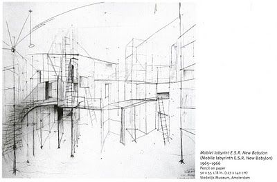 boiteaoutils: # Constant's New Babylon / Drawings