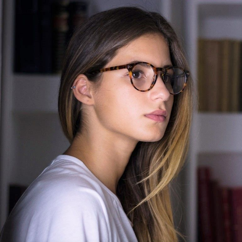 affordable glasses  Our Trendy HIpster and Affordable Glasses: the Melville, in Light ...