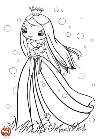 beal mortex coloring pages | Coloriage: Princesse et lapin | Coloriage princesse ...