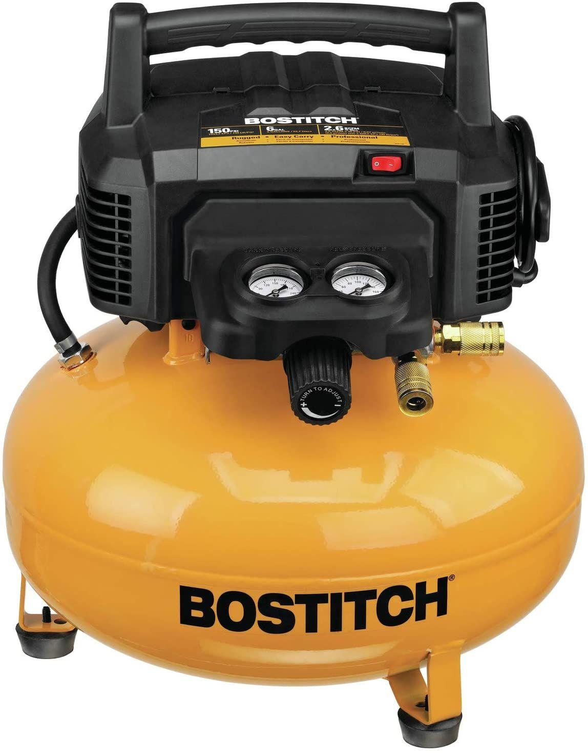 Pancake air compressor Bostitch Portable Compressor in