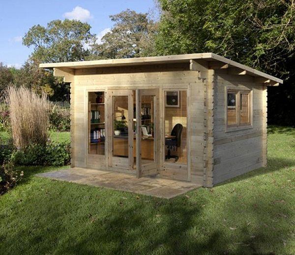 Garden Sheds 3m X 3m forest melbury 2.5m high x 4m wide x 3m deep wooden log cabin