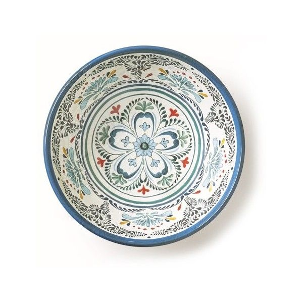 Veracruz Blue Melamine Dinnerware Collection 24 Liked On