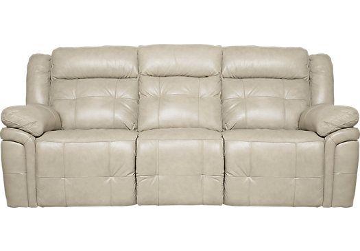 677 Reclining No Power And No Usb Beige Sofa Sofa