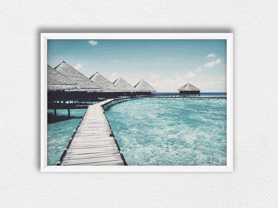 Beach Path Photo Beach Life Living Wall Art Contemporary Photo