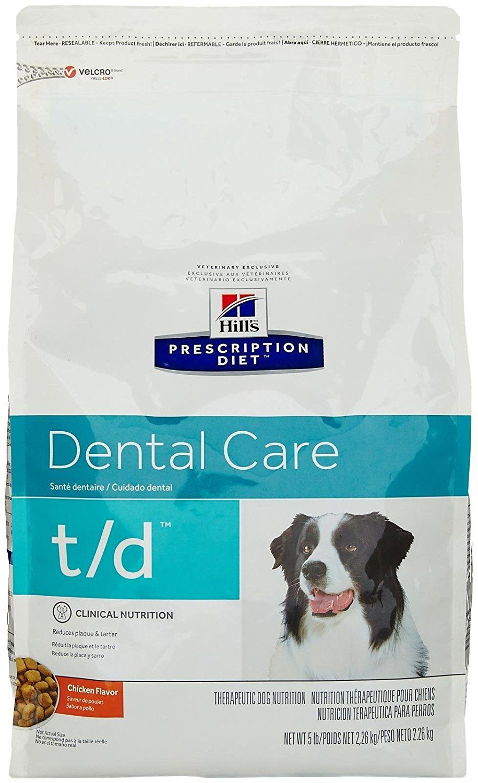 Hill S Prescription Diet T D Canine Dental Health 5lb For