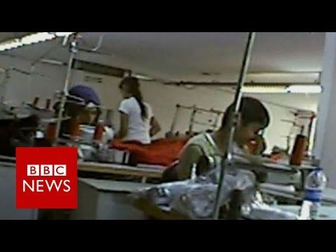 Undercover : The Refugees Who Make Our Clothes  BBC NEWS