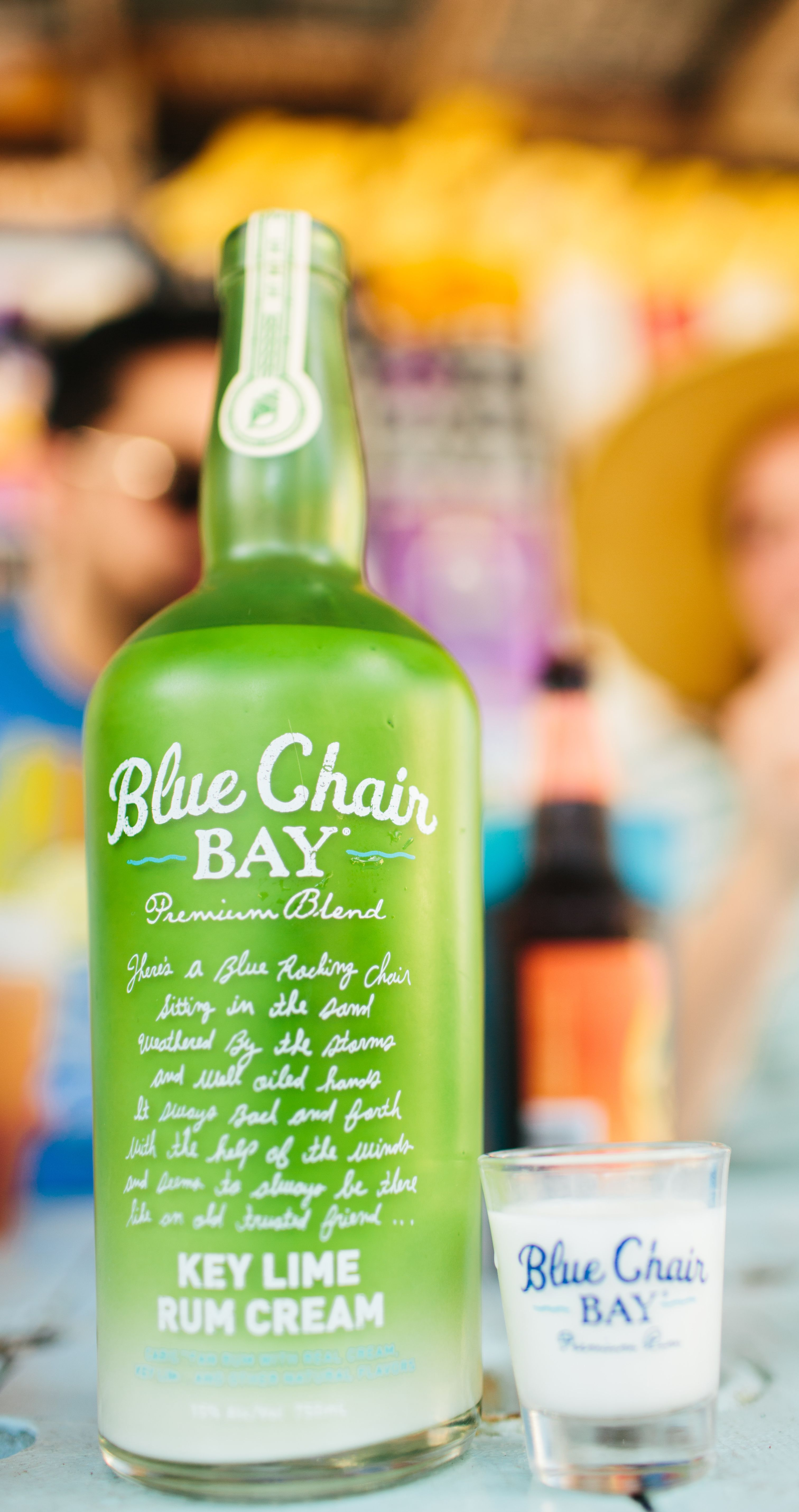 BUTTERY LIME SHOOTER 75 oz Blue Chair Bay Key Lime Rum Cream