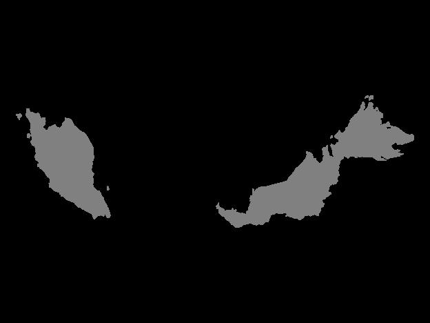 Grey Map Of Malaysia Map Vector Map Malaysia