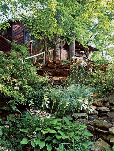 Architectural Digest Hillside Landscaping Backyard Landscaping Outdoor Landscaping