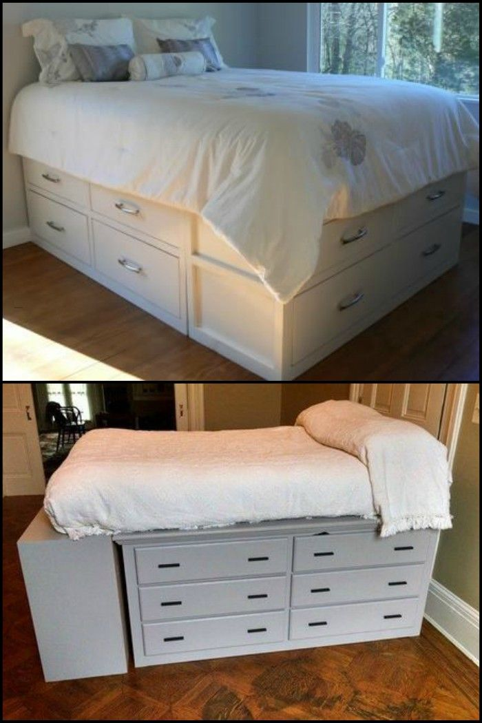 how to build a dresser platform bed from scratch my gypsy style diy storage bed dresser bed. Black Bedroom Furniture Sets. Home Design Ideas