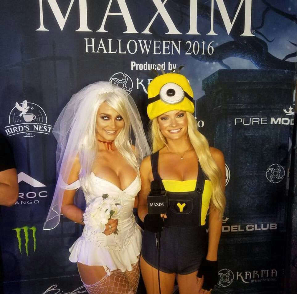 maxim halloween party 2016: all of the sexiest looks!   halloween