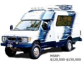 Chinook Baja 4x4 RV - MSRP $120,000-150,000   4x4 Camping Truck