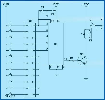 Tremendous Electronic Combination Lock Circuit Schematics In 2019 Wiring Cloud Pendufoxcilixyz