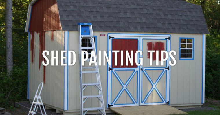 Painting Tips How To Personalize Your Shed