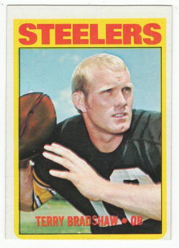 1972 Topps Football Terry Bradshaw 150 VG 11.25