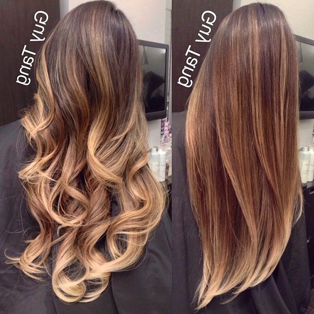 17 Balayage on Straight Hair