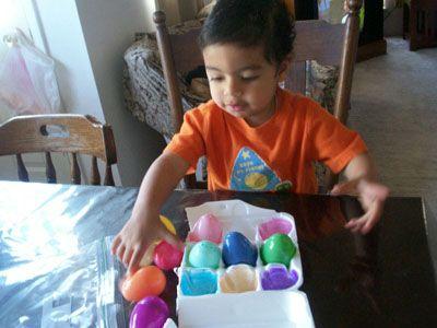 نشاط تعليمي للصغار- تعليم مطابقة الألوان